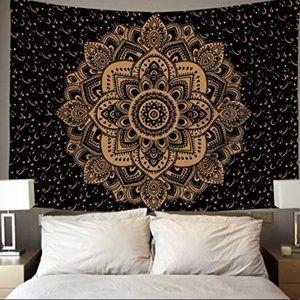 Boho Mandala Tapestry 84x90